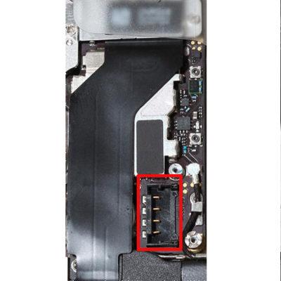 Réparation connecteur de batterie iPhone 4S